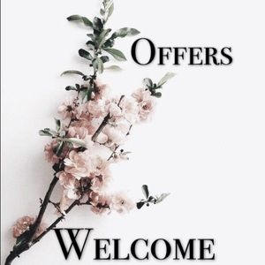 I love all offers..xoxo 🖤